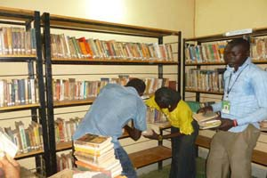 Bibliothuèque du Centre Culturel