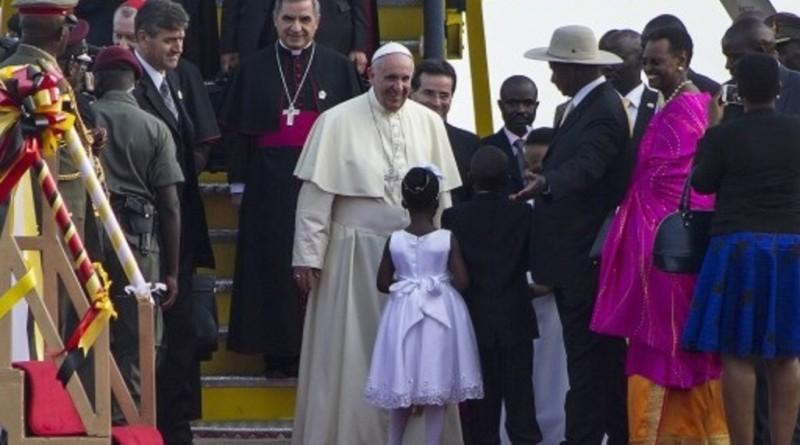Visite du pape en Ouganda