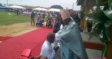 Mbalmayo: ordination presbytérale de Bernard ENGBOWANG, S.J.