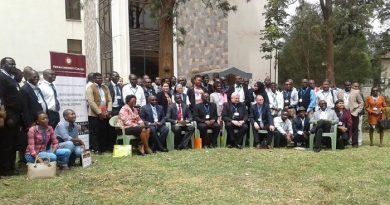 Photo avec le Nonce Apostolique au Kenya et au Sud Soudan