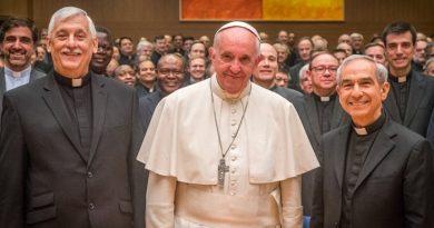 Le Pape à La Congrégation générale