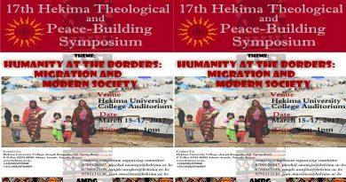 Hekima Symposium 2017