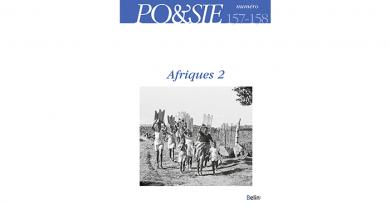 """Po&sie 157-158,""""Afriques 2″"""