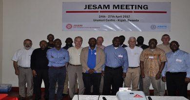 Meeting du Jesam à kigali