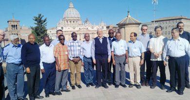 Rencontre à Rome des assistants des Provinciaux (Socii)