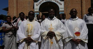 First Mass of Fr John Bangwe in Chilubi Island