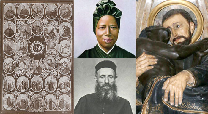 """""""All Saints of Africa and the Society of Jesus… Pray for us"""""""