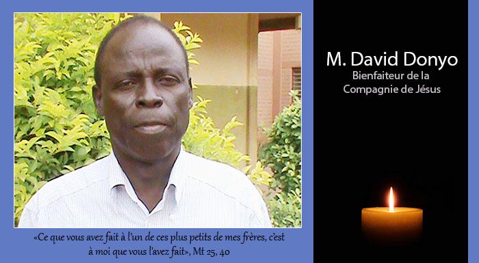 David DONYO: un binefaiteur de la Compagnie s'en est allé