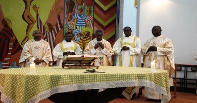 Hekima thanks Jesuits Fathers John Ghansah and Jocelyn Rabeson