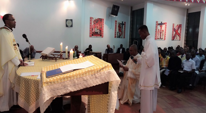 31 July: Feast of St Ignatius and Final Vows of Fr. Matanzonga, SJ