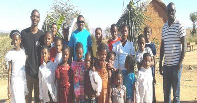 Fabrice Kameni SJ à Madagascar Solila