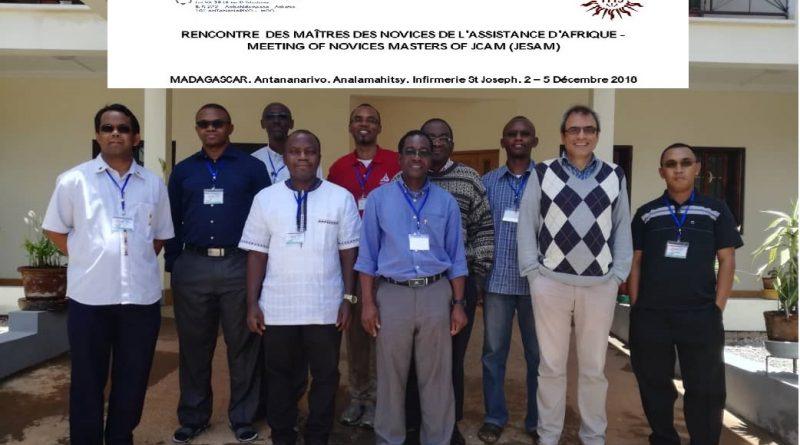 JCAM Novices Master-Maitre des Novices-Meeting