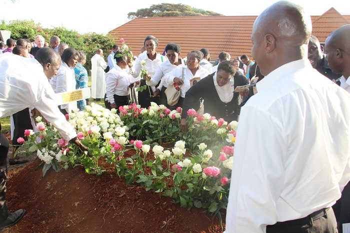 Fr Tarimo SJ Funeral at Mwangaza Jesuit place