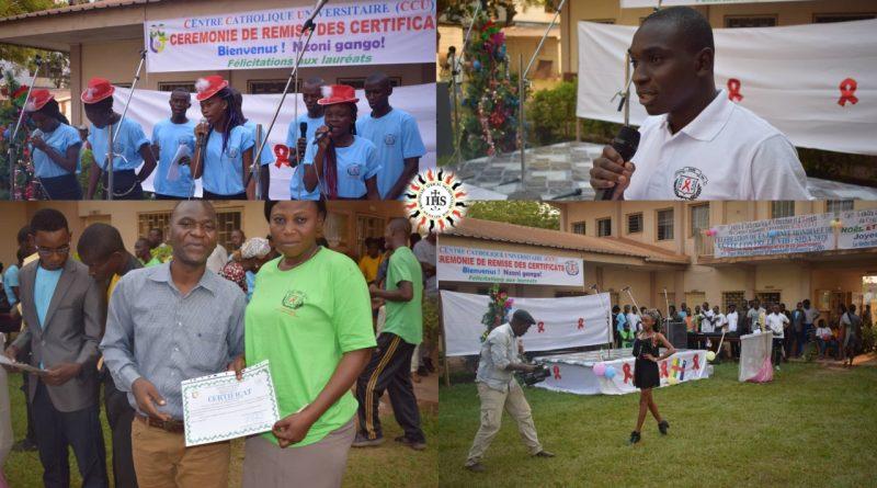 Jean Pierre Gandaf SJ responsable du CIEE-CCU à Bangui-Centrafrique