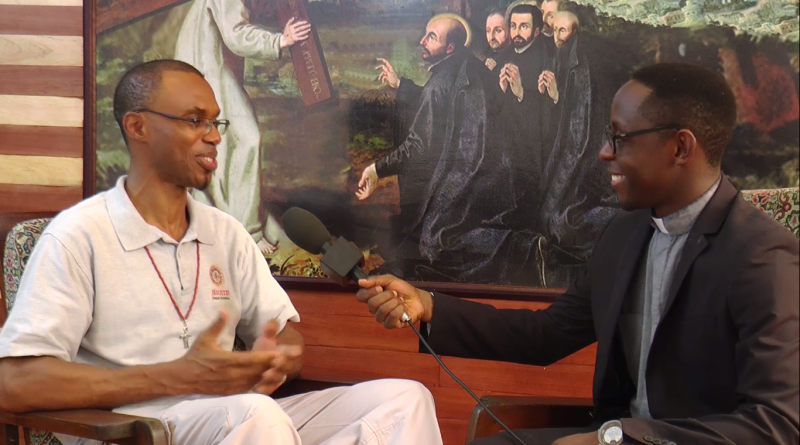 Interview with Fr. Agbonkhianmeghe Orobator SJ at the end of Father General's visit to West Africa Province (AOC) of the Society of Jesus