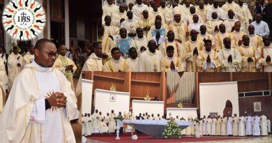 Yaoundé: Yannick Essengué SJ, prêtre dans la Compagnie de Jésus