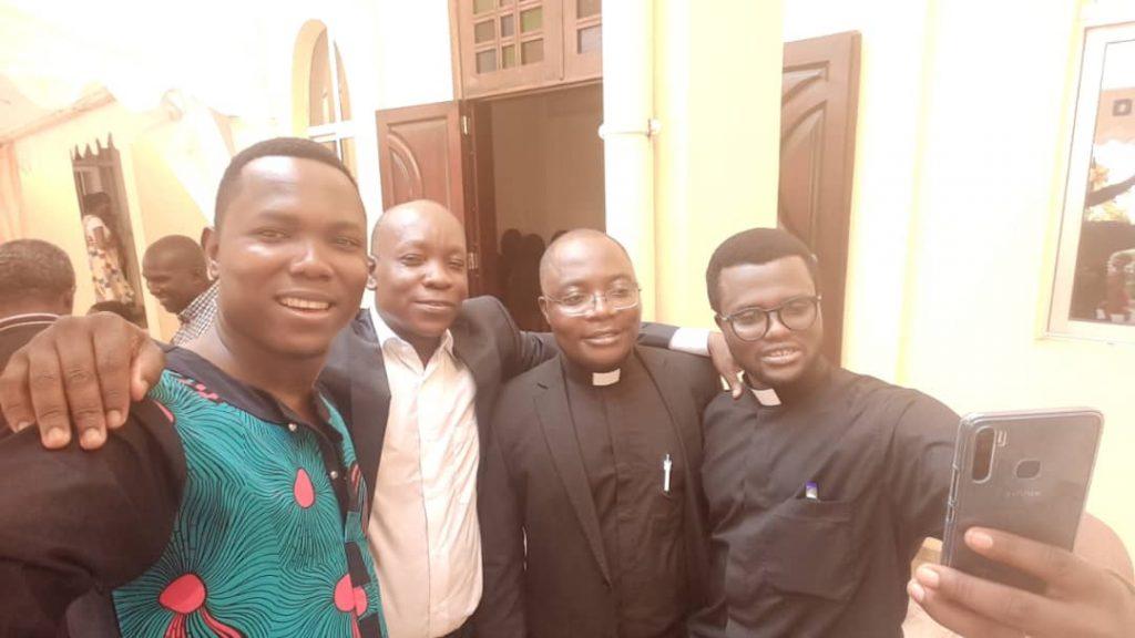 La joie des compagnons jésuites