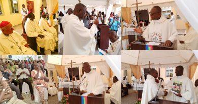 Célébration des Pères jésuites Mathieu Ndomba et Narcisse Takong