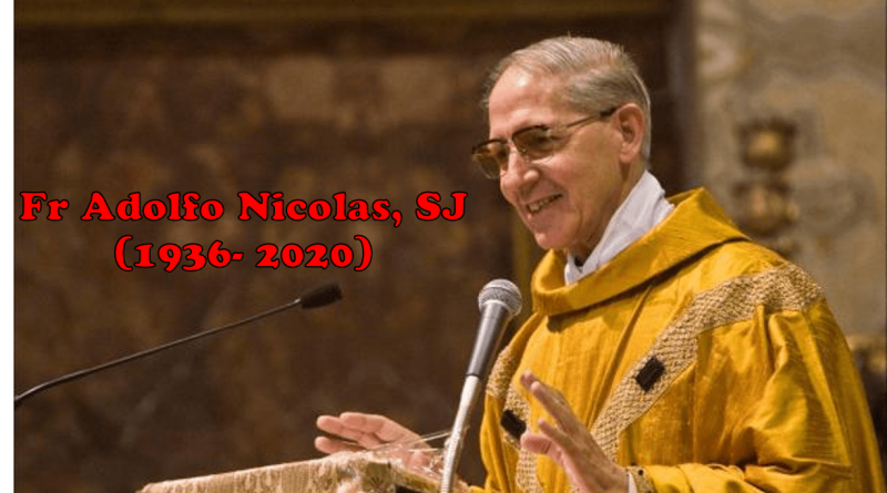 décès du père Adolfo nicolas