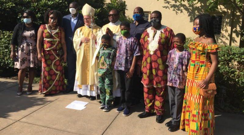 Etats-Unis: Ordination sacerdotale du Père Fabrice Kameni, SJ