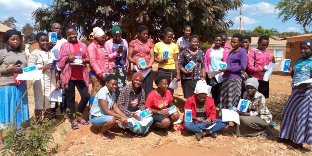 Naweza Secondary school students/ Jesuit Refugee Service Int