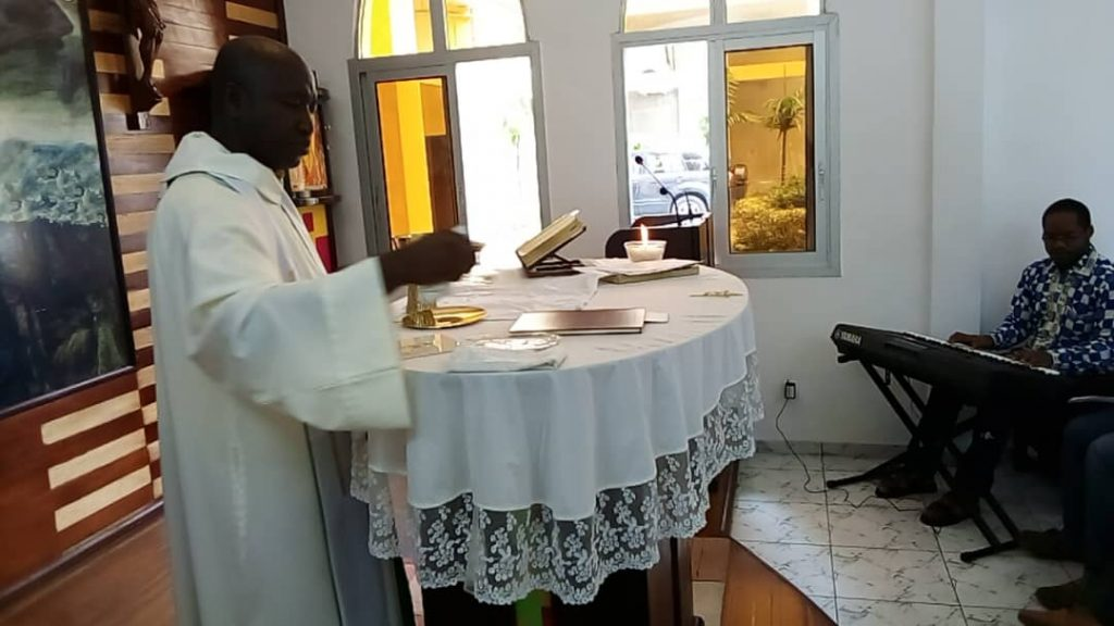 Père Fidèle Dolo, SJ