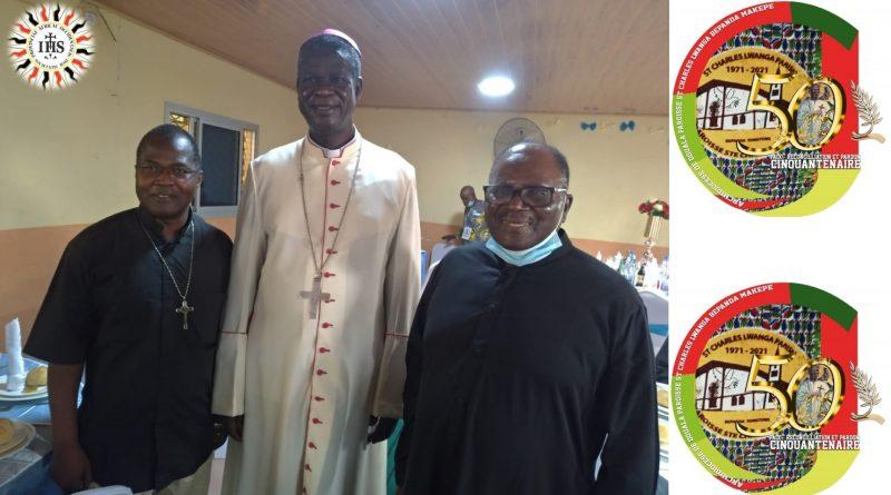 « Mgr Samuel Kleda, voici Frère Azeufack SJ qui a guidé les sœurs du St Esprit » Père Foro SJ
