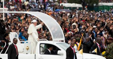 Pape_visite Kenya