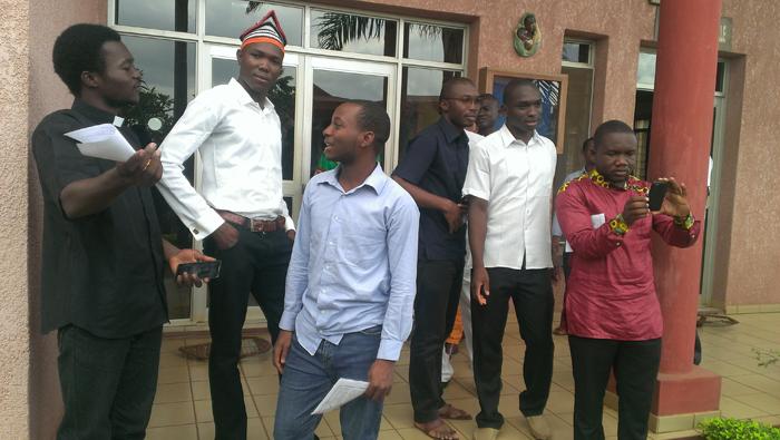 Rencontre-provincial avec les scolastiques jésuites yaoundé