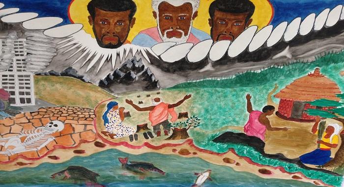 Art Advent of Patrick Taban and Ernesto Graciano