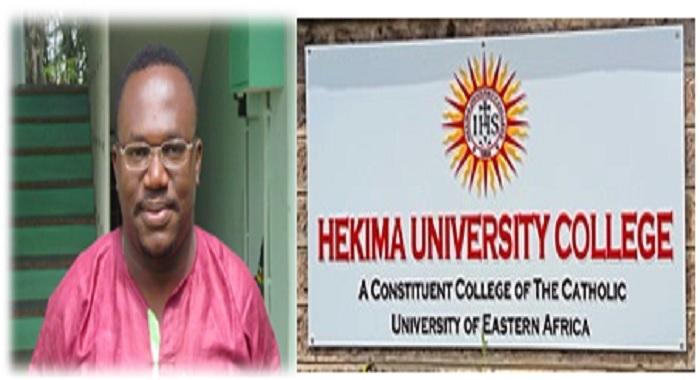 John-Okoria Ibhakewanlan, SJ Principal Hekima College