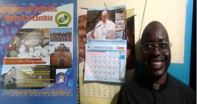 Fr Chisanga Santa Maria's Parish Priest