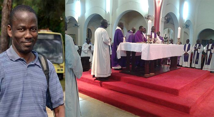 Obsèques P. Matondo,sj