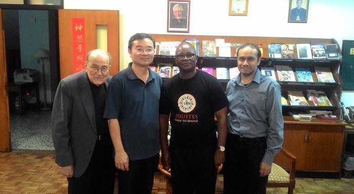 Provincial de Chine et de la Pao: PP Loua Hyacinthe et John Lee Hua