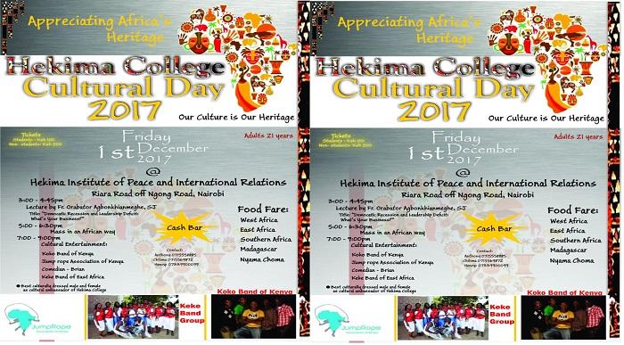 Hekima College Cultural Day