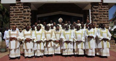 ordination diaconale à Hekima College