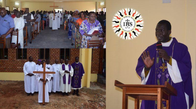 Bangui-Centrafrique Inauguration de la Chapelle au CCU