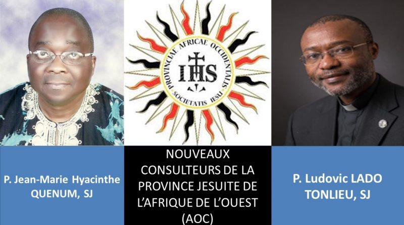 PP jésuites Jean Marie Quenum et Ludovic Lado