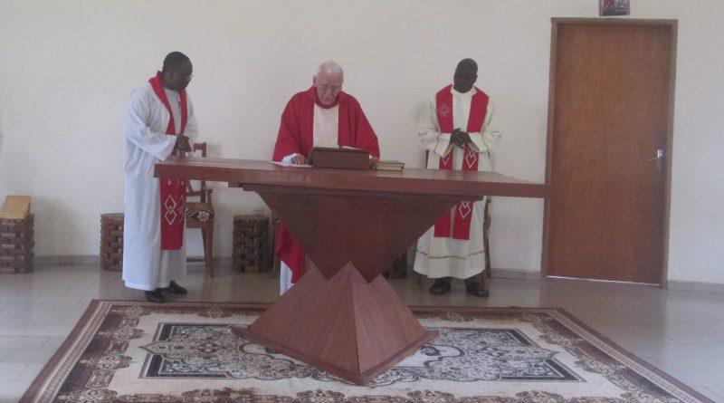 Bafoussam: Les novices jésuites célèbrent  la Passion du Seigneur